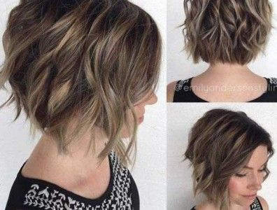 Stylish Short Haircuts For Thick And Wavy Hair