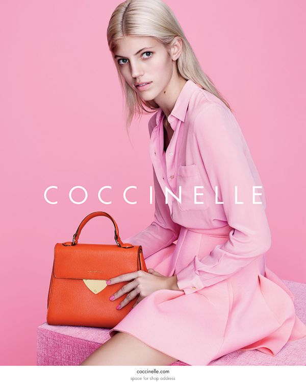 948367804692 Coccinelle Spring Summer 2015 LookBook | bag photoshoots in 2019 ...