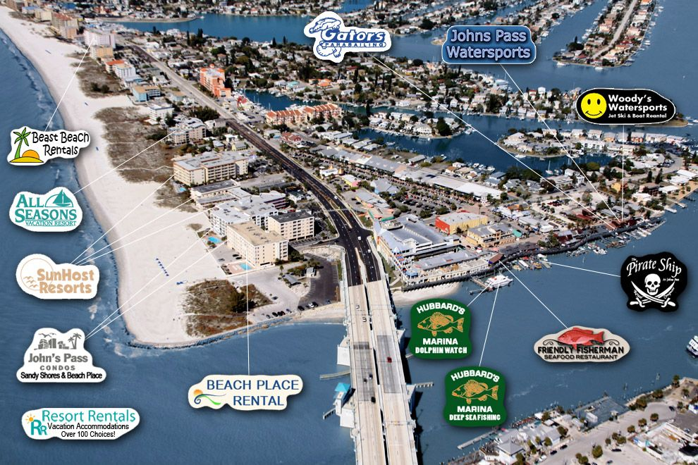 Madeira Beach FL   great map.. We need a long weekend there, soon