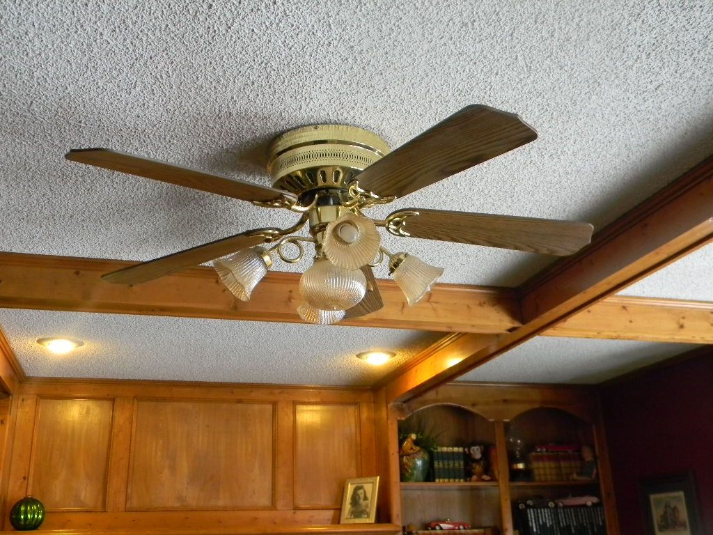 This Is Our Old Ceiling Fan In The Family Room So 1980 S