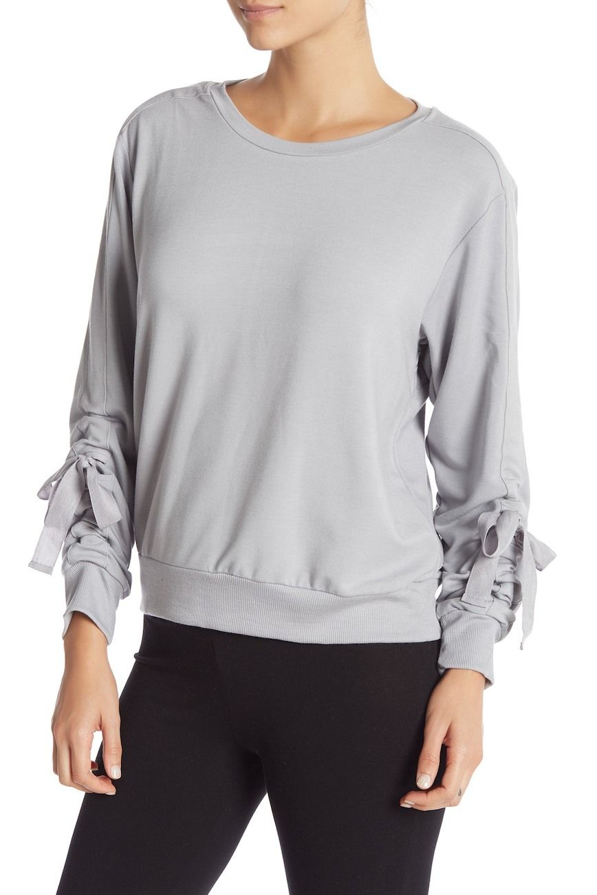 d3b5fb2dffece Zella | Gather Em In Crew Neck Pullover | Family session | Pullover ...