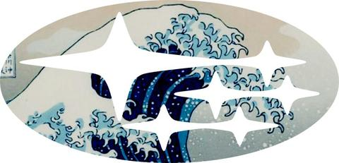 The Great Wave Emblem Overlay Decal Set Emblems Overlays Great Wave