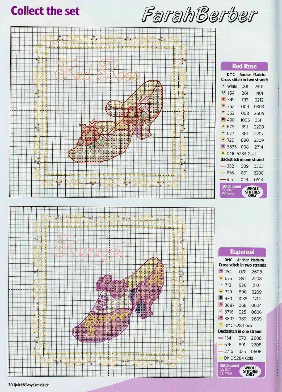 Pin de sagrarin en zapatos de tacon | Pinterest | Punto de cruz ...