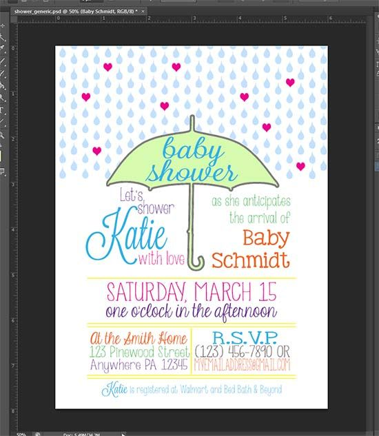 Baby shower invitations with your silhouette crafts printers and mom baby shower invitations with your silhouette filmwisefo