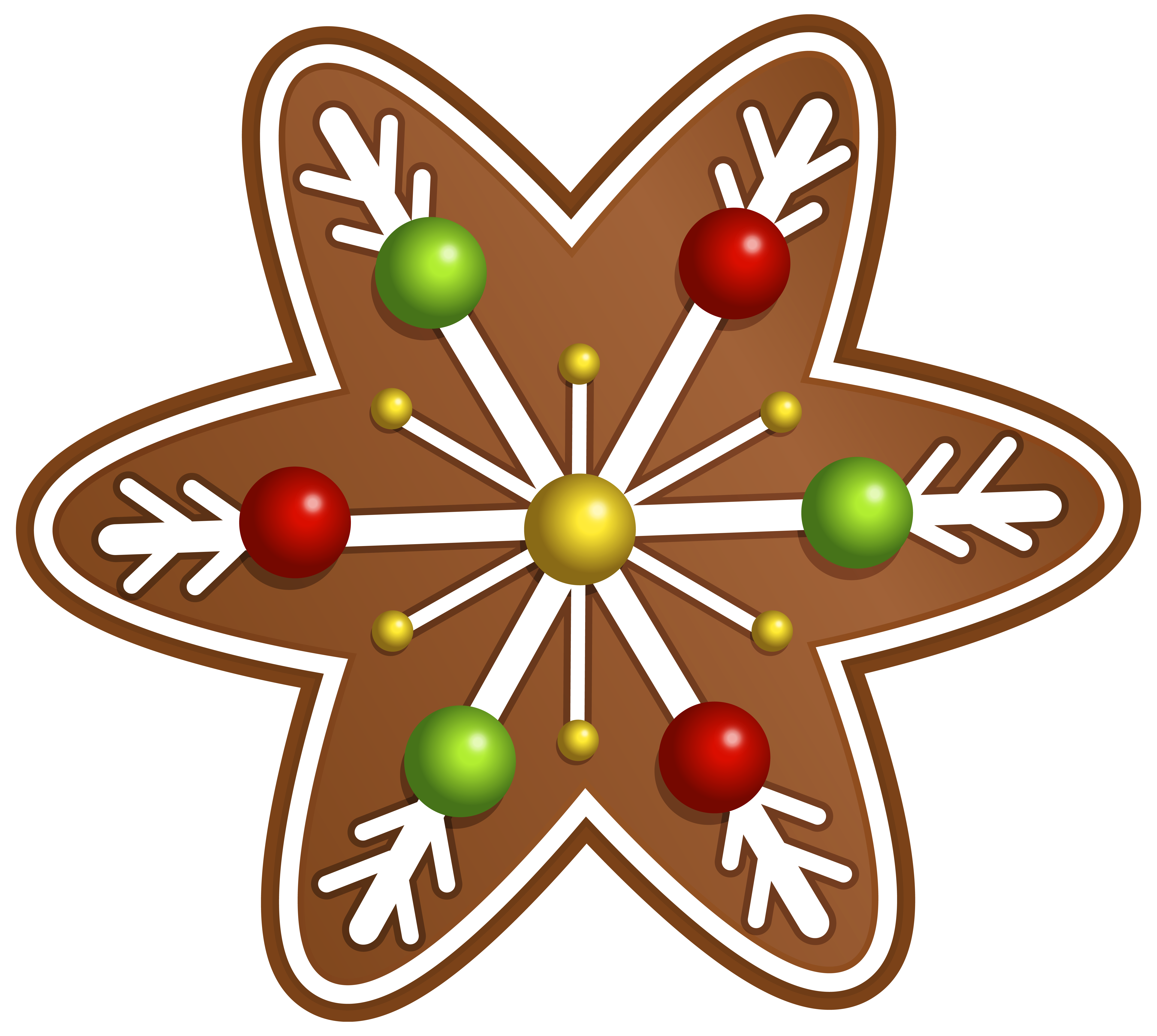 Christmas Cookie Star PNG Clipart Image Gallery