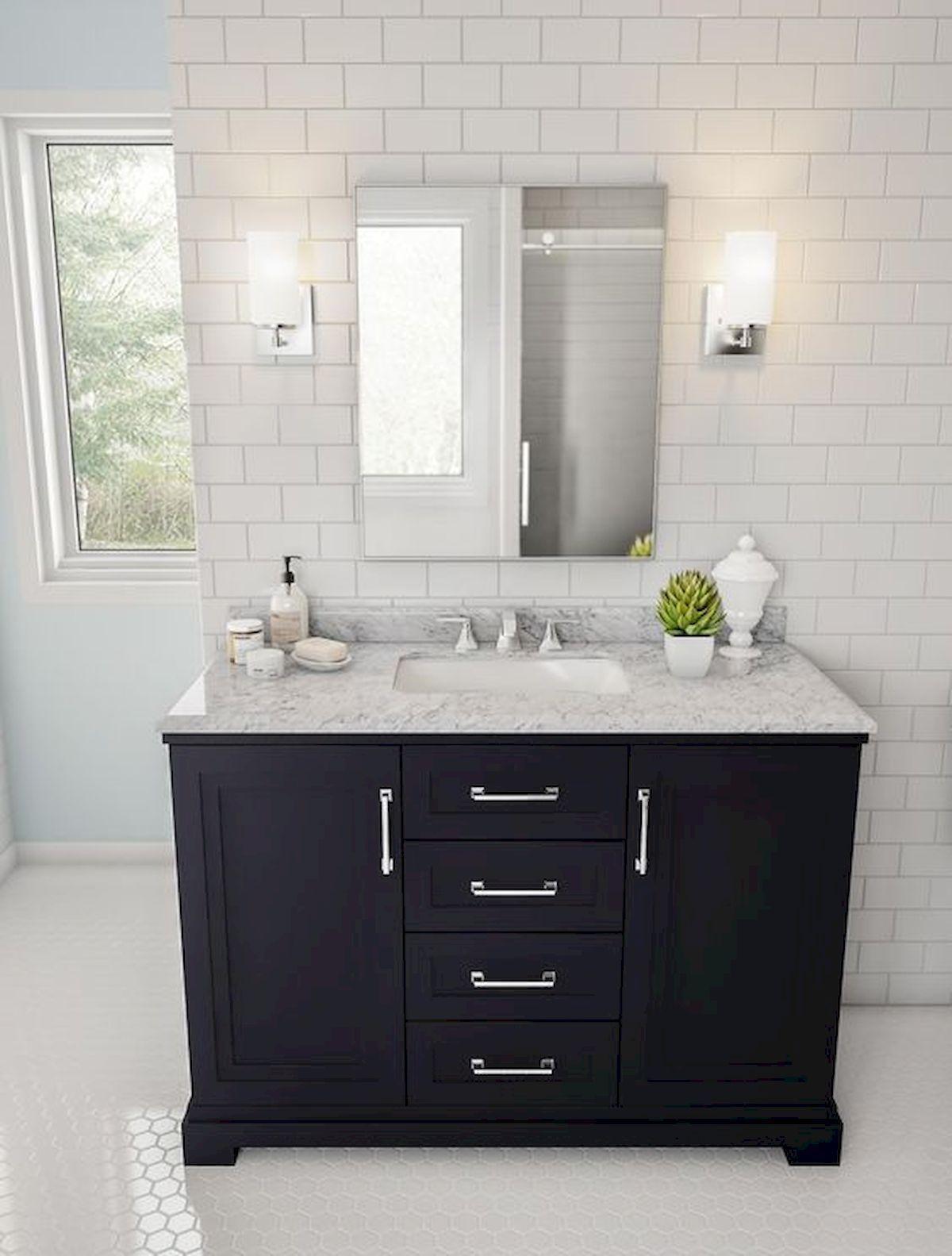 40 2019 best farmhouse bathroom mirror design ideas and