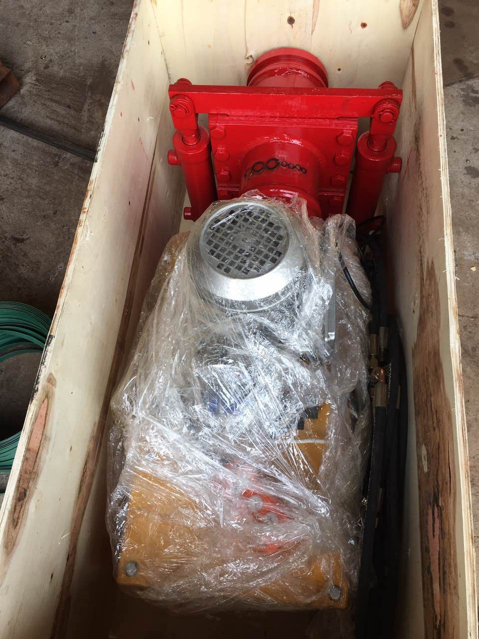 concrete pump hydraulic shut off valve package for my
