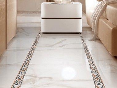 Marmol Classic Chic Ceramic Floor Border 500 X 80mm Ceramic Floor Mosaic Flooring Floor Decor