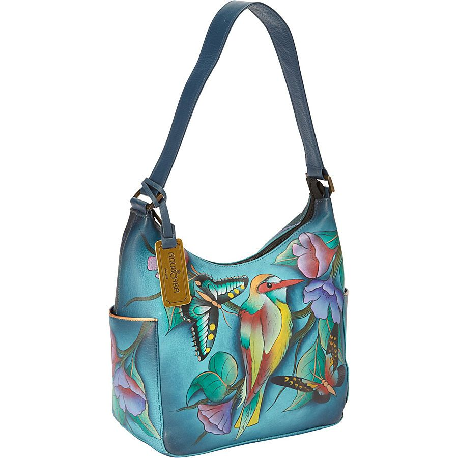 Buy the Anuschka Hobo with Side Pockets at eBags - experts in bags and accessories since 1999.  We offer easy returns, expert advice, and millions of customer reviews.