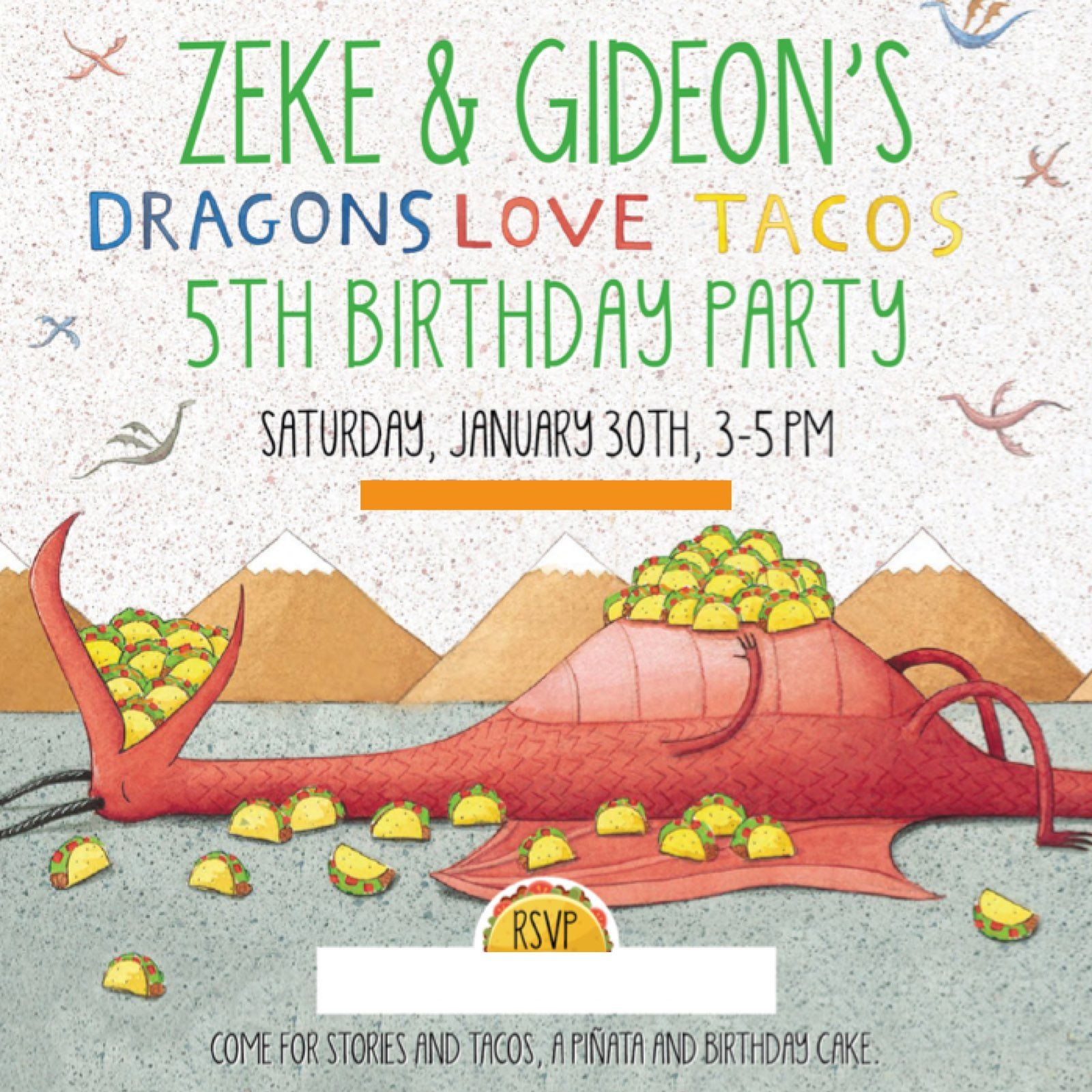a9560965a585465b448185d8baa875f5 throwback thursday dragons love tacos party dragons love,Taco Party Invitations