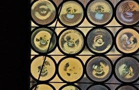 Abstract details two; Doge's Palace; St. Mark's Square; Venice, Italy.  December 2014.