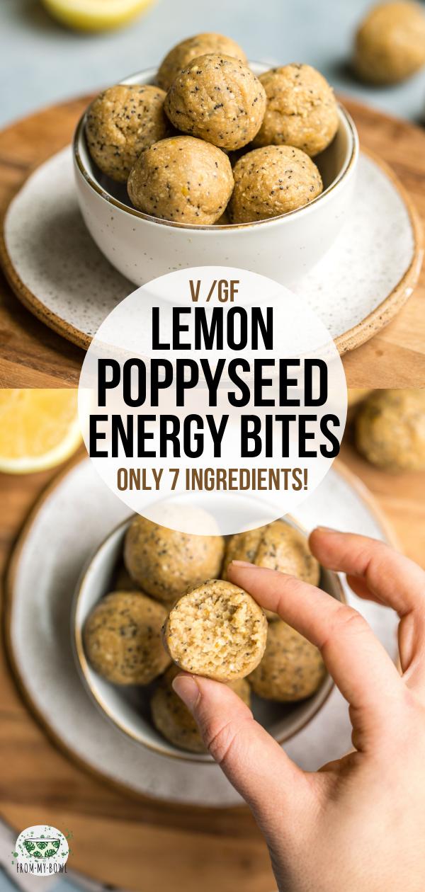 Lemon Poppyseed Energy Bites images