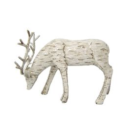for sale at lowes purchased still available on lowes website holiday living holiday lodge tabletop deer indoor christmas decoration item 585612 - Lowes Christmas Decorations Deer