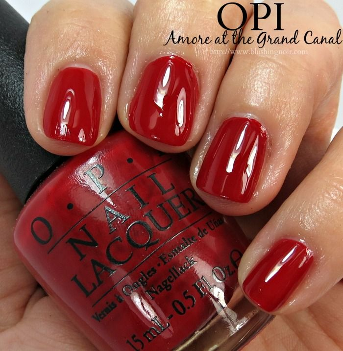 OPI Amore at the Grand Canal Nail Polish Swatches // Venice ...