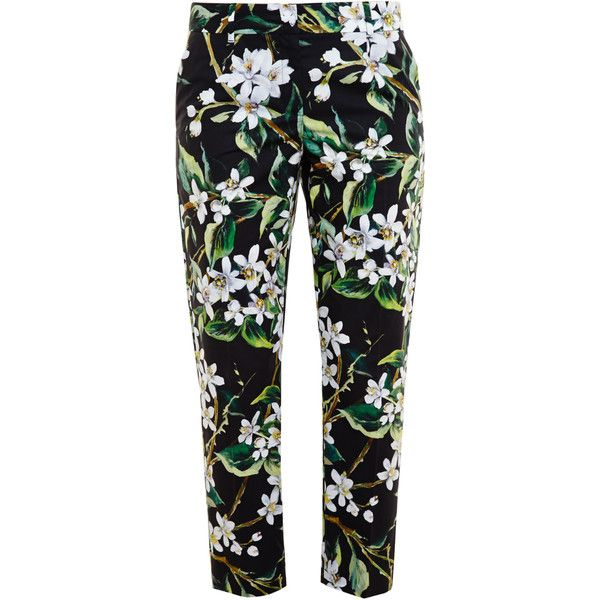 Flowers print pants Dolce & Gabbana ejLiQ