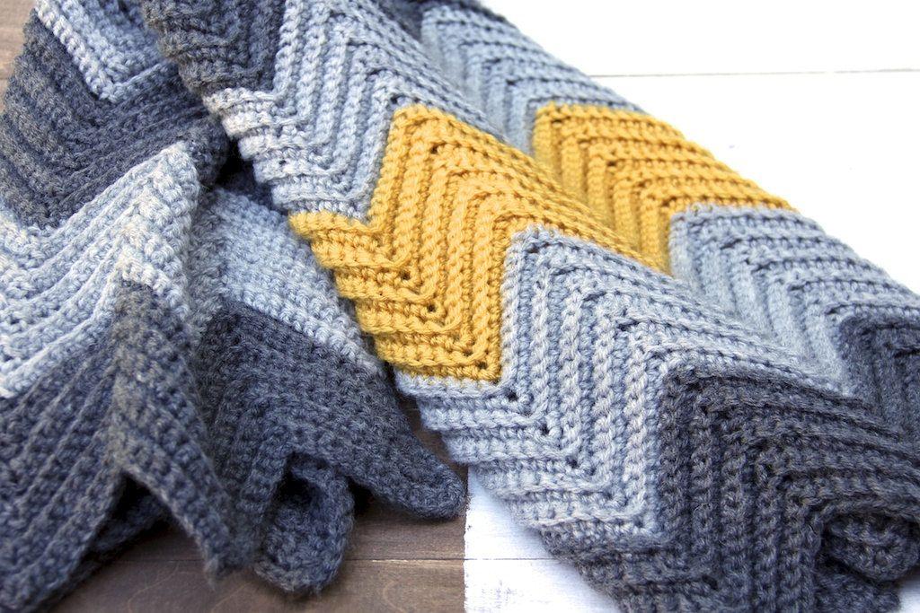 PATTERN Chevron (Zig-Zag) Baby Blanket Pattern. $4.00, via Etsy ...