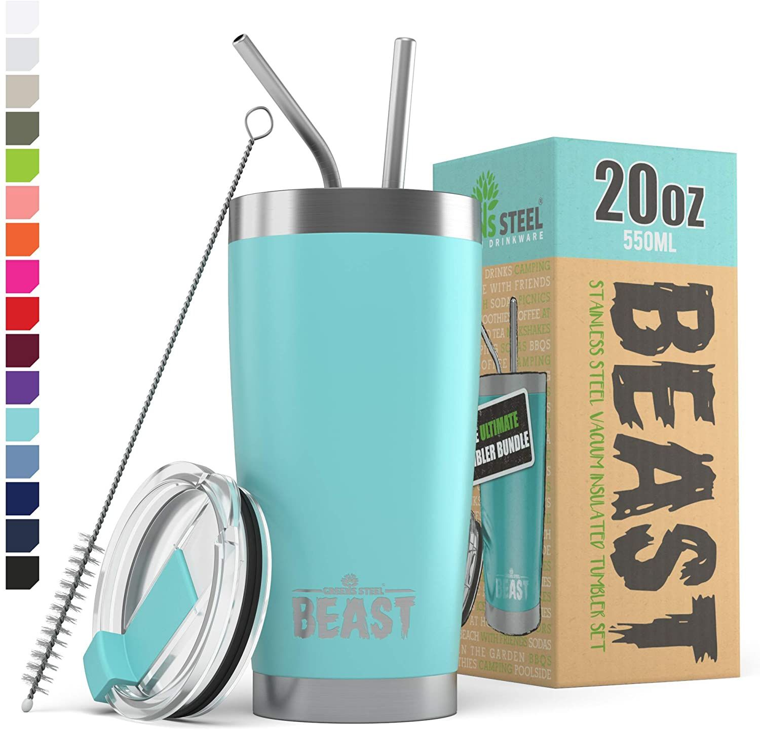 Offering unrivaled value for money: 2 unbreakable steel straws, a free straw brush to make cleaning even easier & 1 splash proof lid presented in a beautiful Gift Box. With so many second-rate tumblers available on the market we wanted to set ourselves apart and be the best #NewHomes #ModelHomes #decorideas #mandalabookcase #decorhomeideas