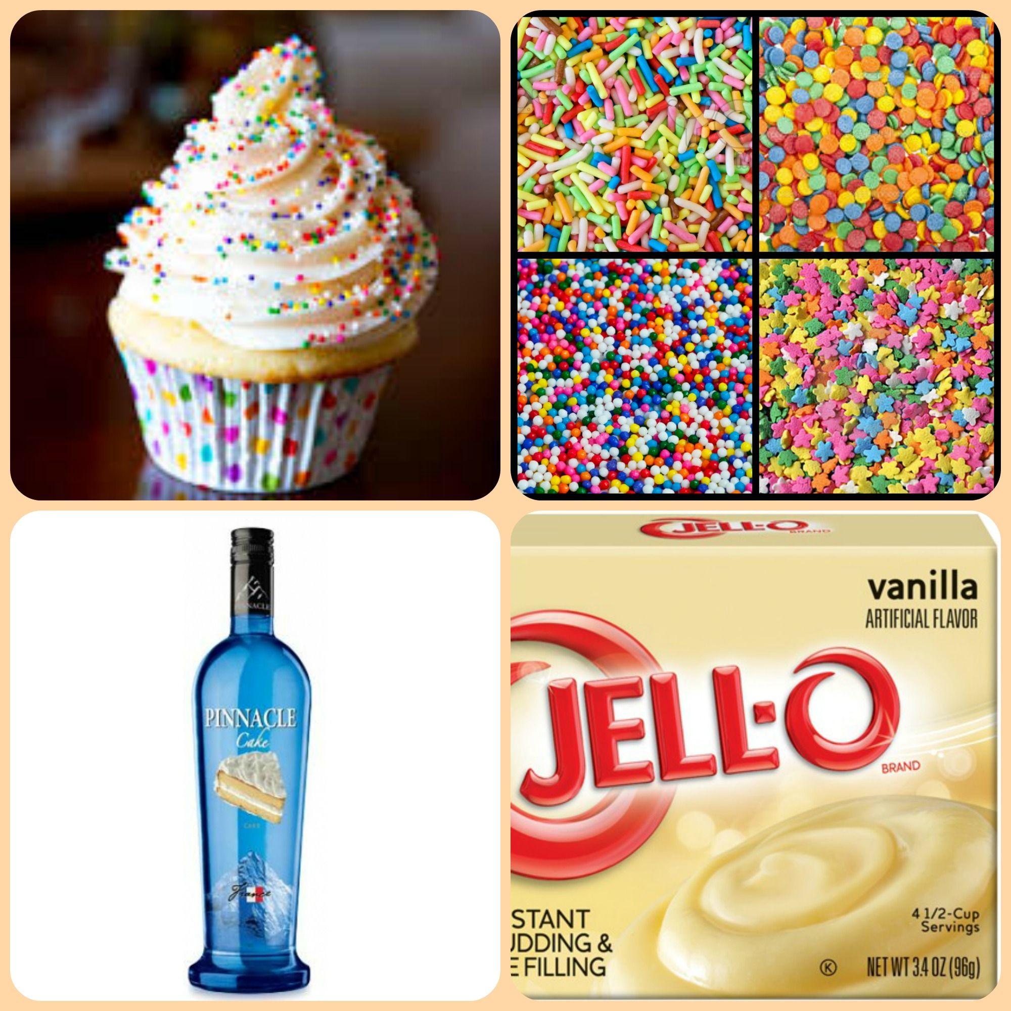 Vanilla Cupcake Pudding Shots 1 Small Pkg. Vanilla Instant