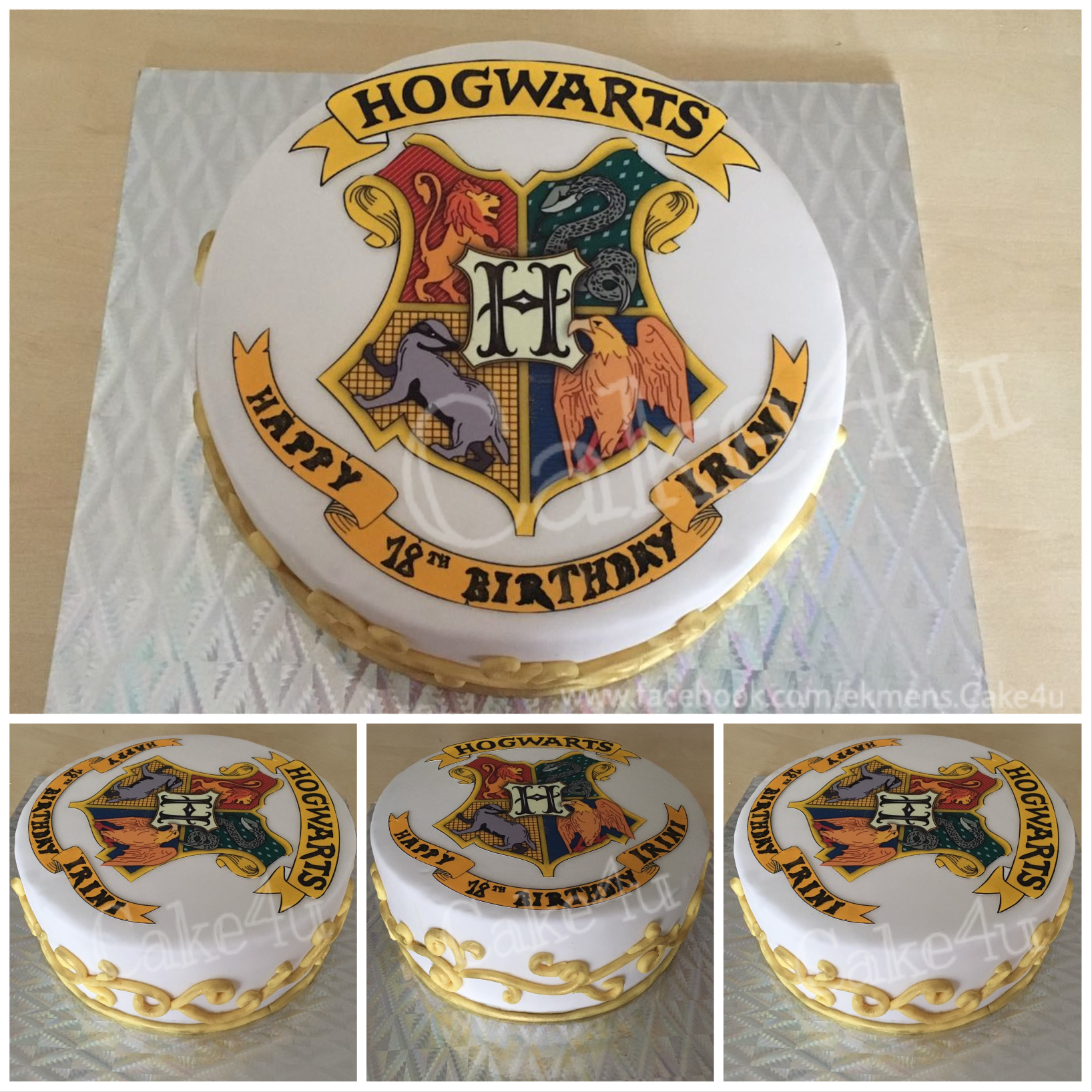 harry potter hogwarts torte motivtorte harrypotter frauen pinterest harry potter torte. Black Bedroom Furniture Sets. Home Design Ideas