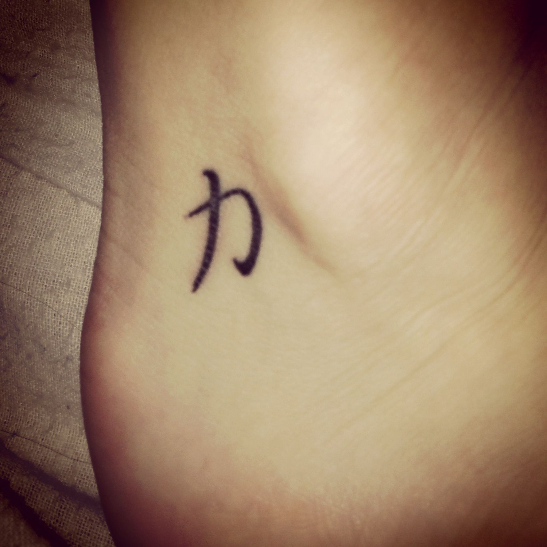 my tattoo! Strength symbol Enkel tatoeage ontwerpen