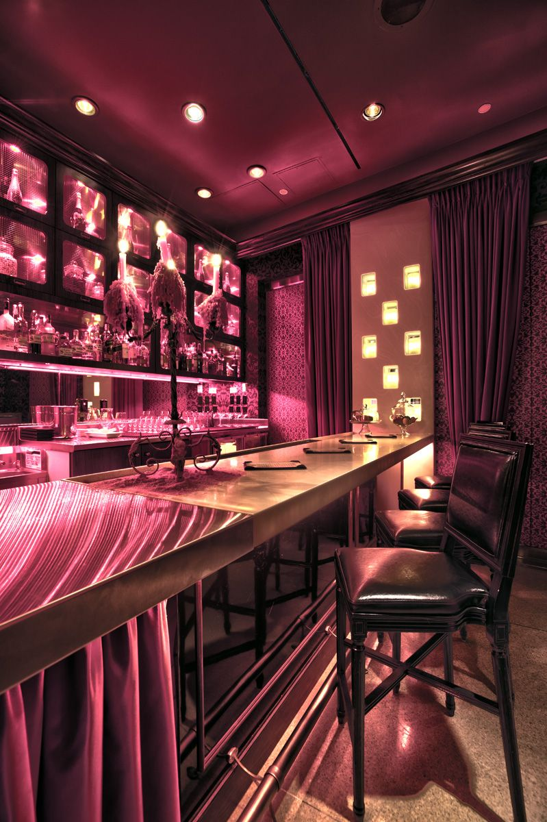 Scarlet Bar At The Palms Casino Las Vegas Restaurant Design Hospitality Interior