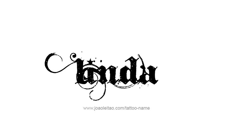 linda name tattoo designs. Black Bedroom Furniture Sets. Home Design Ideas