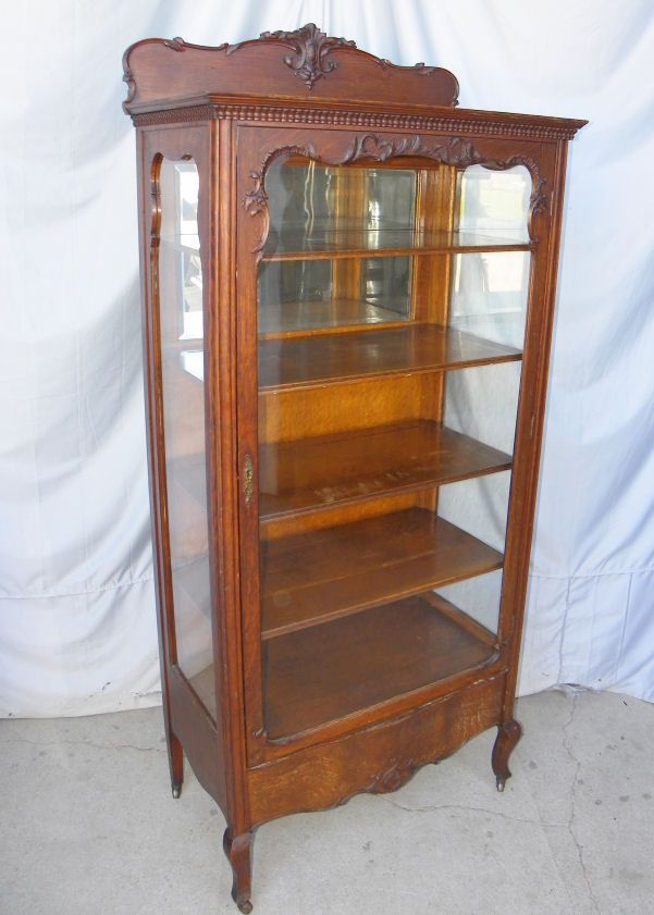 China Cabinet | Antique oak furniture, China cabinet, Oak ...