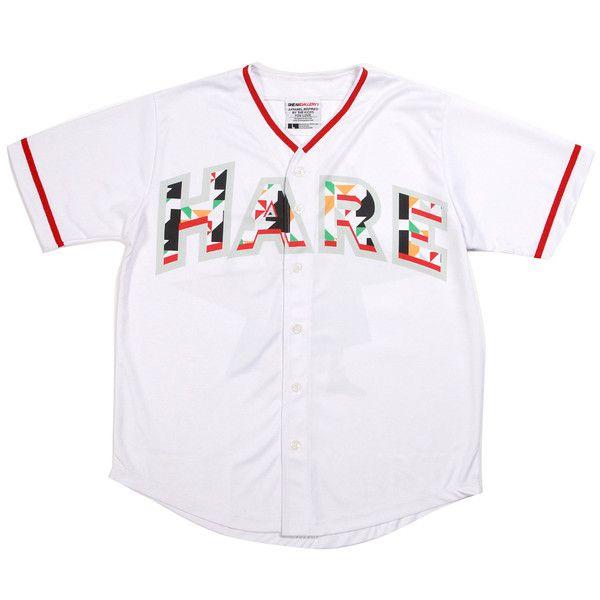 ca40b3736289a2 Hare Jordan Baseball Jersey
