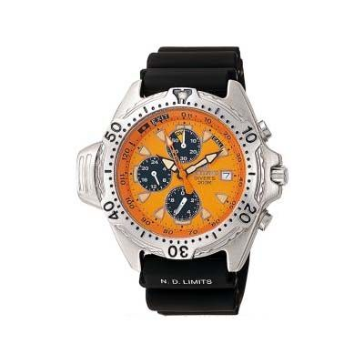 Citizen pro master diver with orange face really liked this watch but it never stayed running - Orange dive watch ...