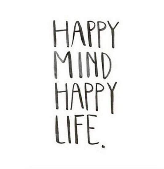 Happy Mind Happy Life Abstract Pinterest Happy Quotes Quotes Simple Happy Life Quotes And Sayings