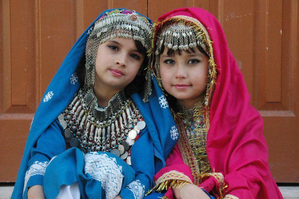 Hazara girls in hazaragi dress in Nowruz festival   Afghan