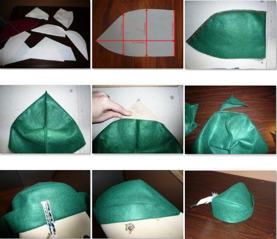 e7d132693a657 como hacer el Sombrero de robin hood con fieltro. Hoy aprenderemos como  hacer un divertido sombrero de robin hoot. ¿Quien no conoce a Robin Hoot   el legend
