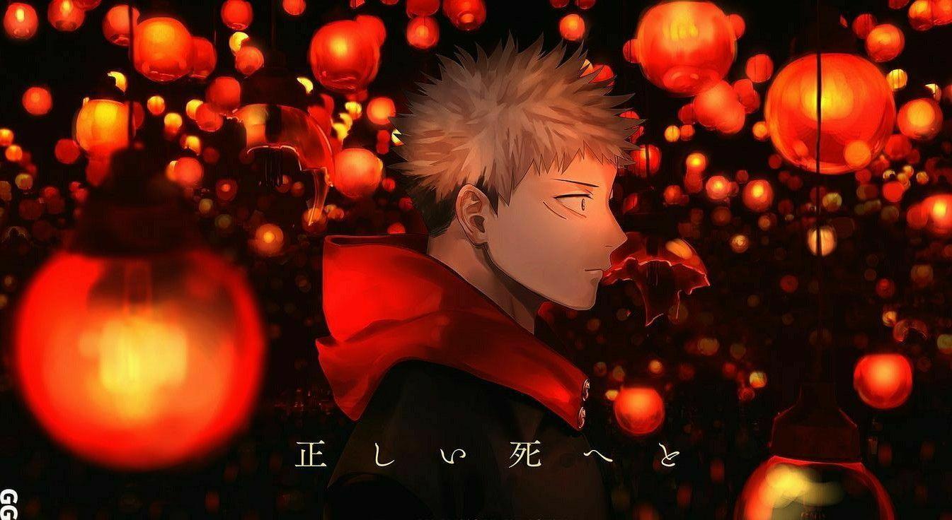 Yuji Itadori En 2021 Artesanias De Anime Fondos De Pantalla Pc Fondo De Anime