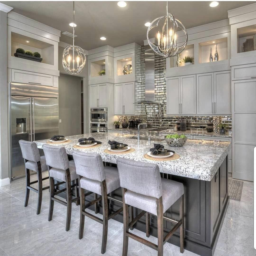 Awesome Luxury Dream Kitchen Design Ideas 9   Crunchhome ...