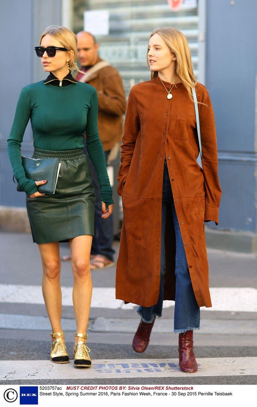 Street style: Paris Fashion Week wiosna-lato 2016