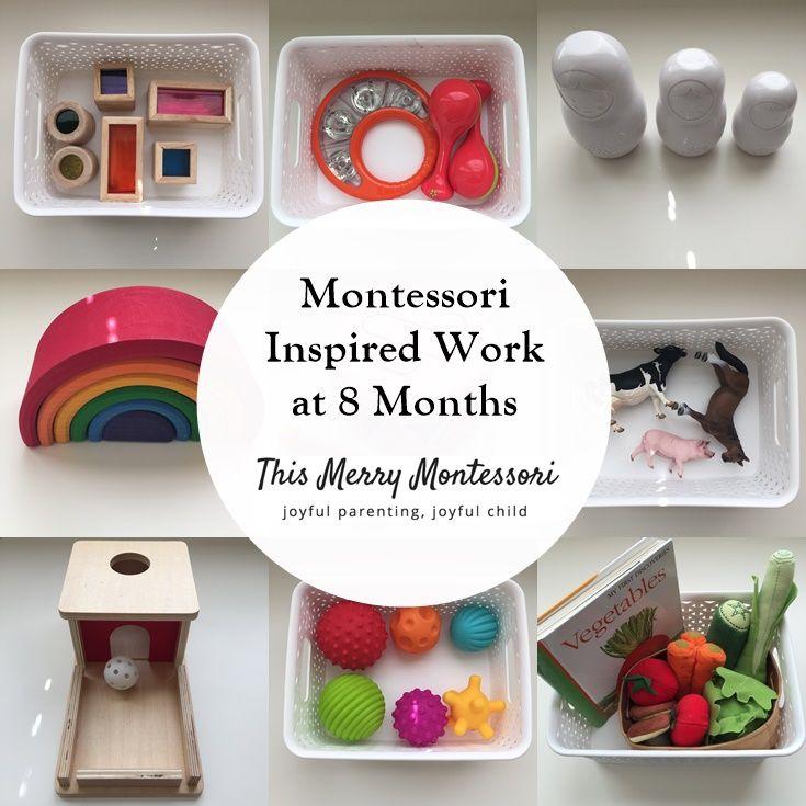 Eli 611 months montessori activities baby diy