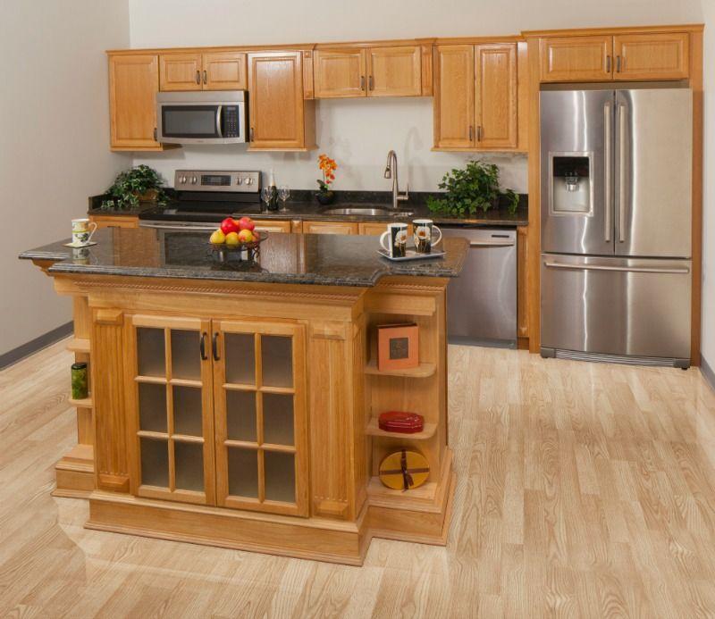 Harvest Oak Kitchen Cabinets Assembled Kitchen Cabinets Kitchen Kitchen Remodel