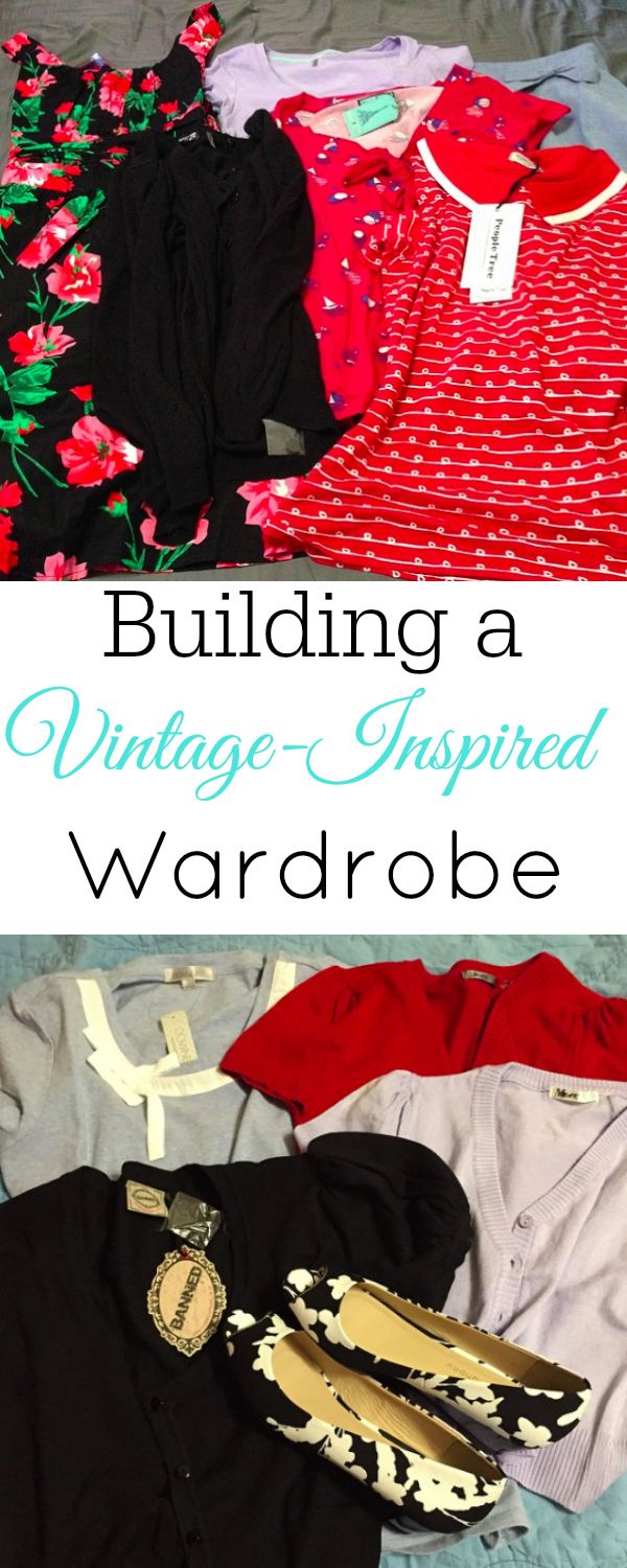 Building a Vintage-Inspired Wardrobe - Retro Housewife Goes Green