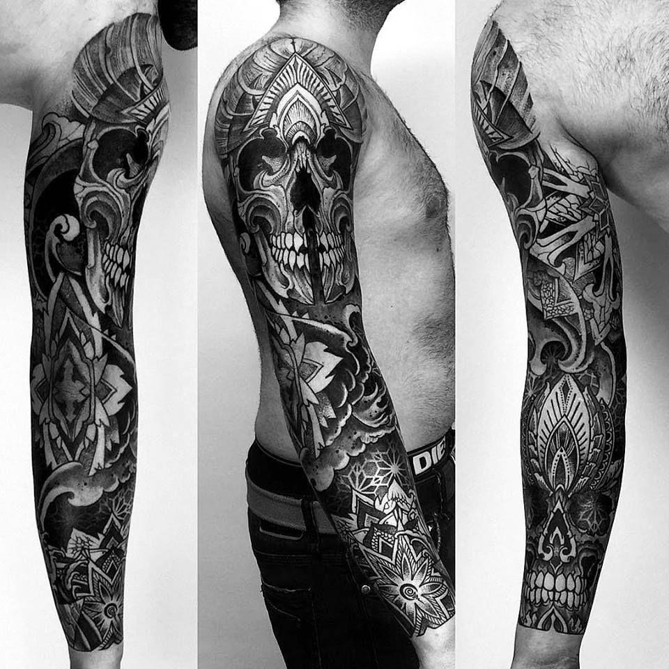 Blog, News & Announcements Skull sleeve tattoos, Sleeve