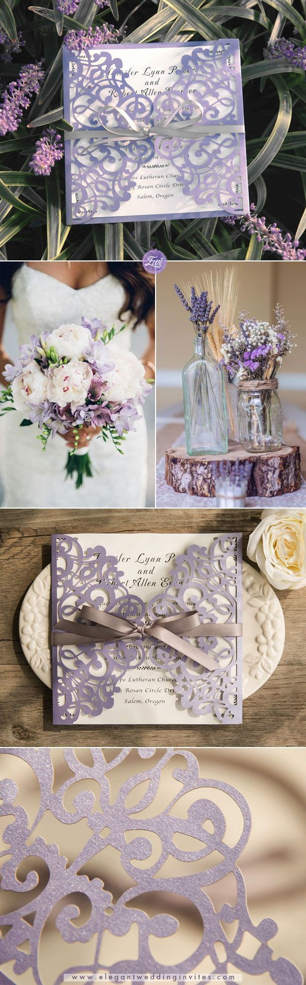 Lilac wedding decoration ideas  Pretty lavender wedding color palette ideas for SummerWedding EWI