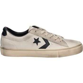 hippe Converse pro leather vulc ox dames sneakers (Wit)
