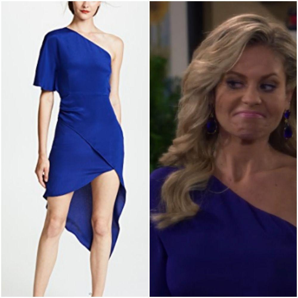 0ce15f94f6 Copy the blue dress worn by DJ Tanner in