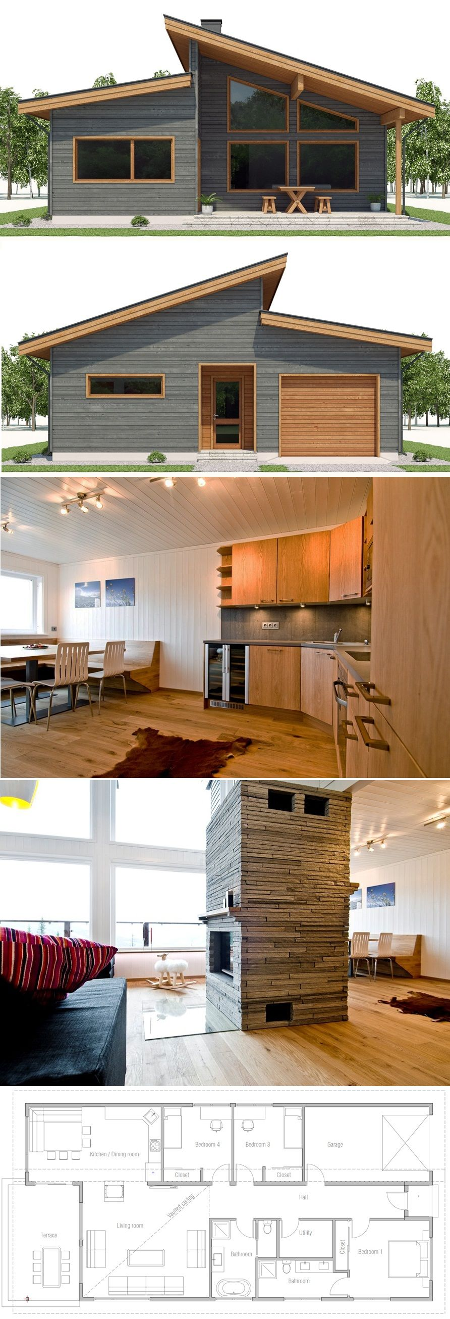 Bunk Room instead of attached Garage | Narrow House Plan ... Ranch House Bunk Plan on ranch brick house plans, ranch kitchen house plans, ranch log cabin plans, ranch cottage plans, ranch deck house plans, ranch double house plans,