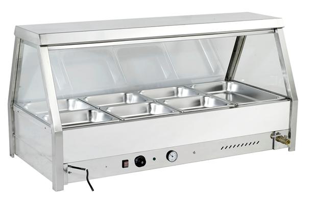 Minox Dm64 8 Straight Glass Bain Marie Hot Food Display Bain Marie Kitchen Catering Equipment Hot Meals Kitchen Equipment Food Display