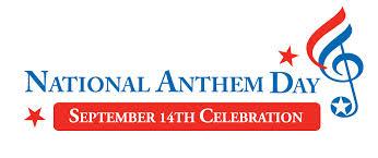 September 14  National Anthem Day