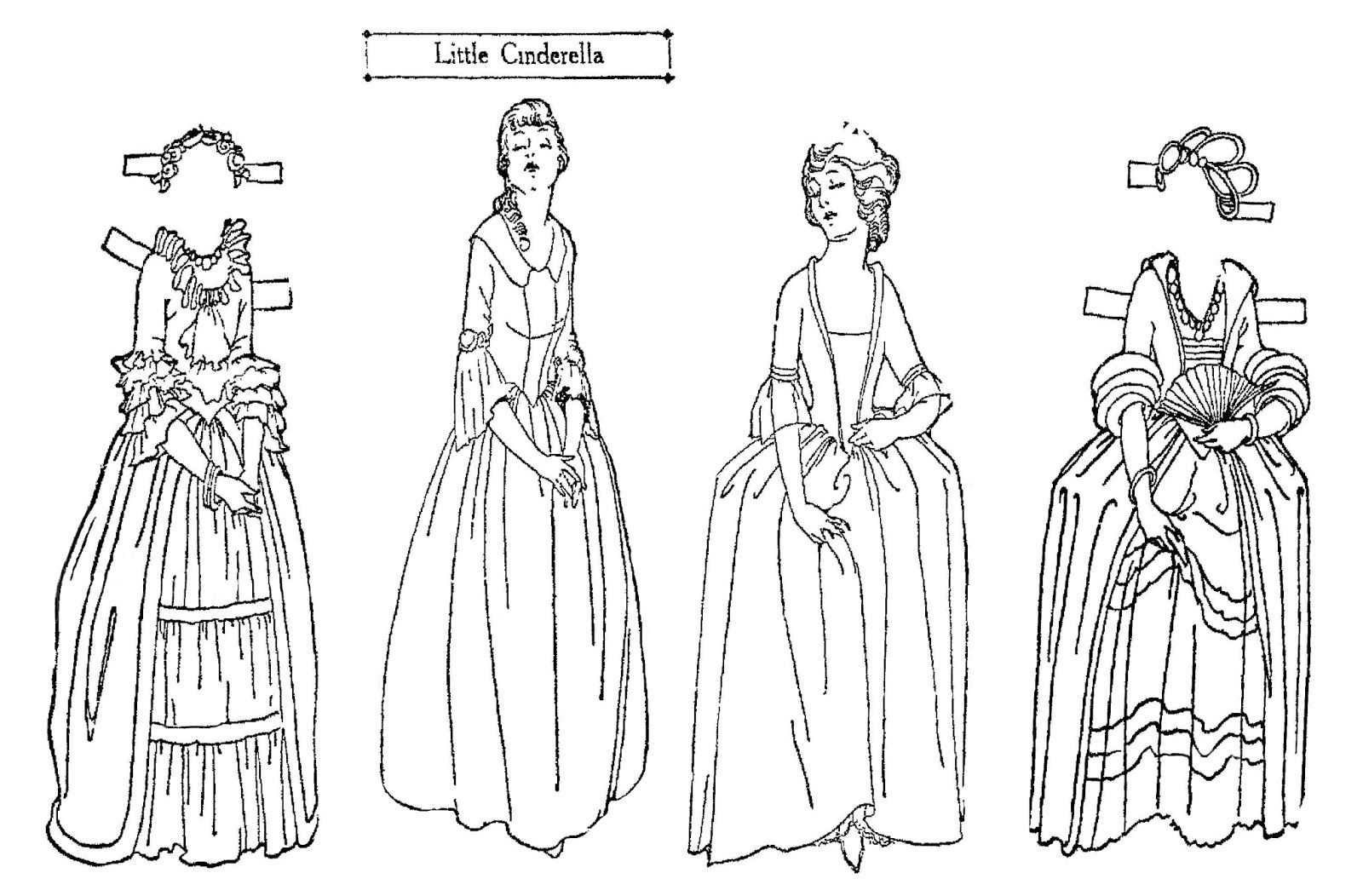 madame alexander coloring pages | Pin on PAPER DOLLS >