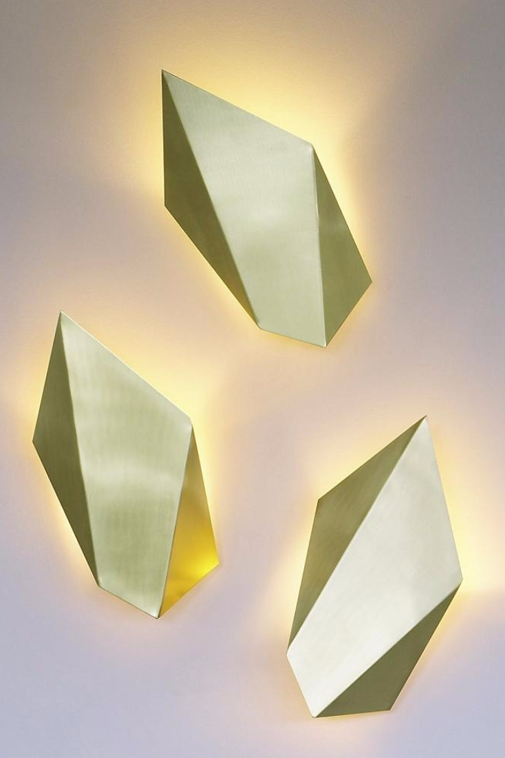 Abstract Wall Sconce | Wall sconces, Walls and Lights