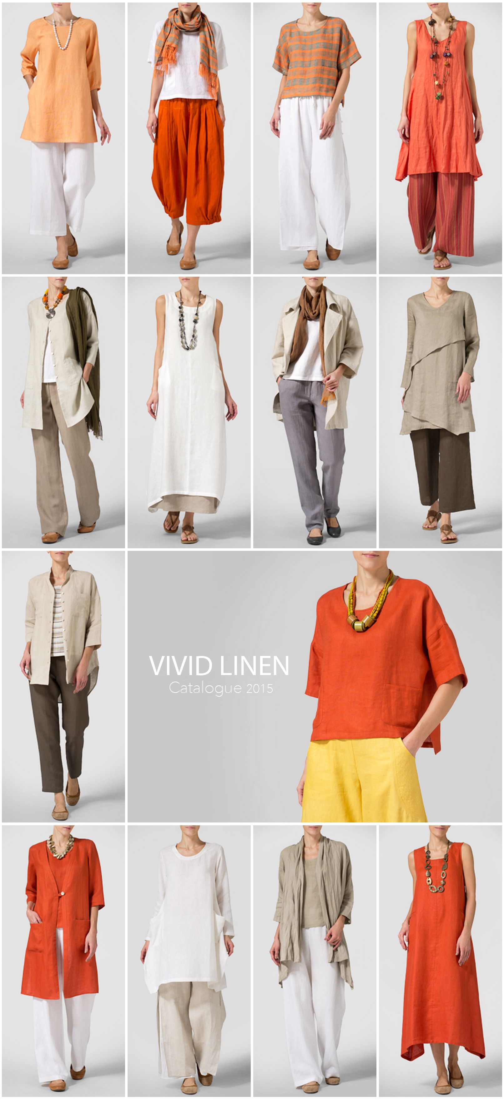 VIVID LINEN -Summer Style - Inspiration by the energetic of warmer ...