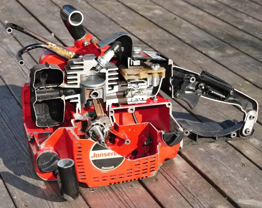 Jonsered chainsaw motor pinterest