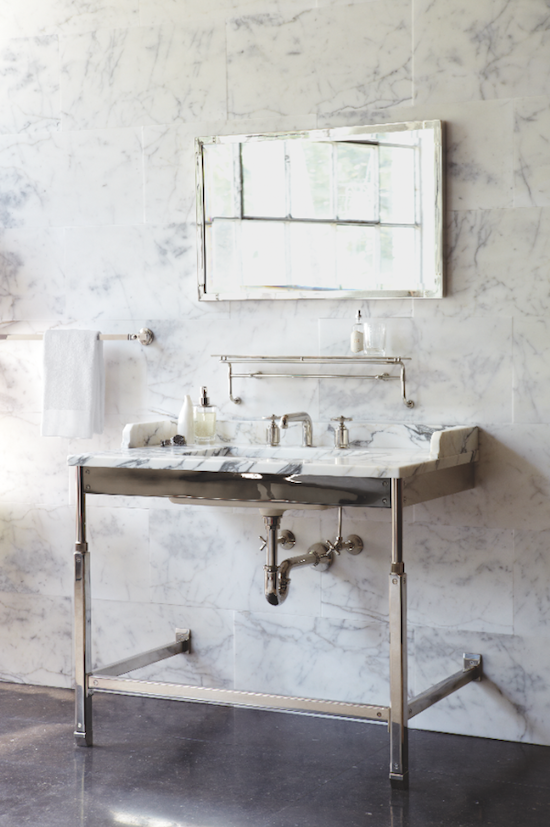 Roman And Williams Waterworks Bathroom Vanity Design Fixtures